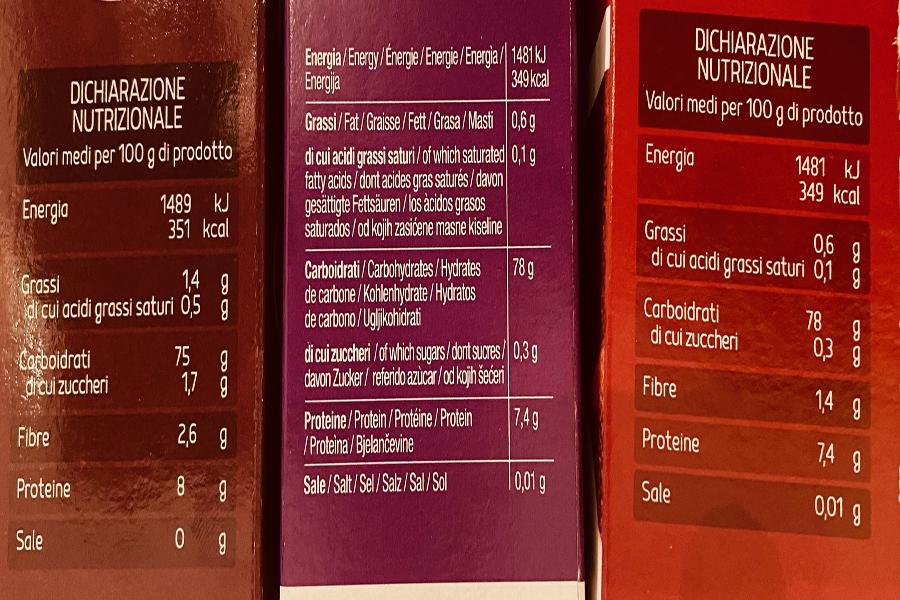Cos'è un'etichetta nutrizionale? - Dieta DEP, dimagrire velocemente ed in modo sano